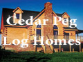 Cedar Peg Log Homes Oriental and Pamlico County Real Estate Services